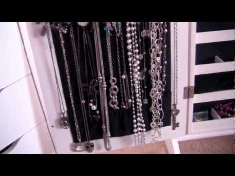 My Jewelry Collection/Storage!!