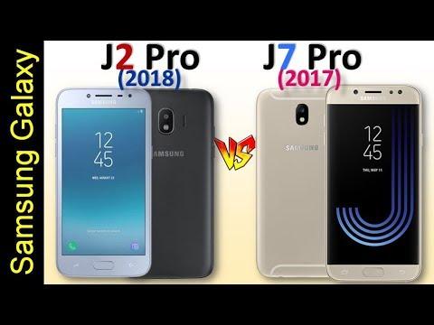 Galaxy J2 Pro 2018 Vs Galaxy J7 Pro Full Comparison Youtube