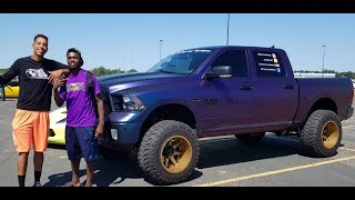 Tall Guy Car Reviews & Mr Organik Pulled Up at The Minnesota Cars & Coffee July 2018!!!