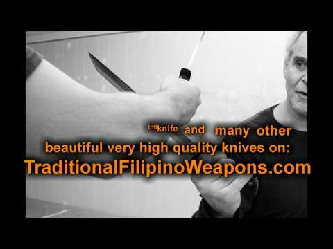 Hagibis, a fast and deadly beautiful fighting knife from the Visayan region of the Philippines...