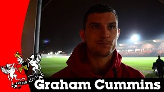 Graham Cummins on a 2-2 draw with Newport | Exeter City Football Club