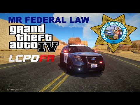 GTA IV - LCPDFR 1.1 Episode 102 (First CHP Patrol)