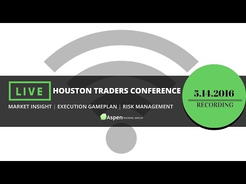 Houston Traders Conference - May 14, 2016 (recording)