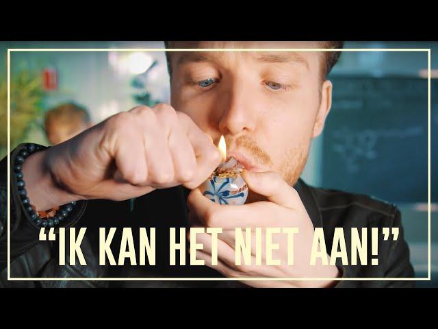 Bastiaan gets baked - Weed (THC) | Drugslab