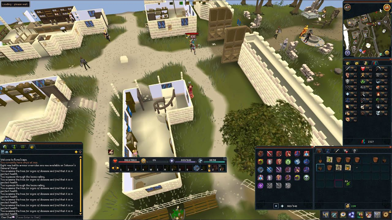Tree Runs using Lodestones - [RS3] Runescape Farming Guide