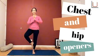 YOGA: Chest and Hip Openers