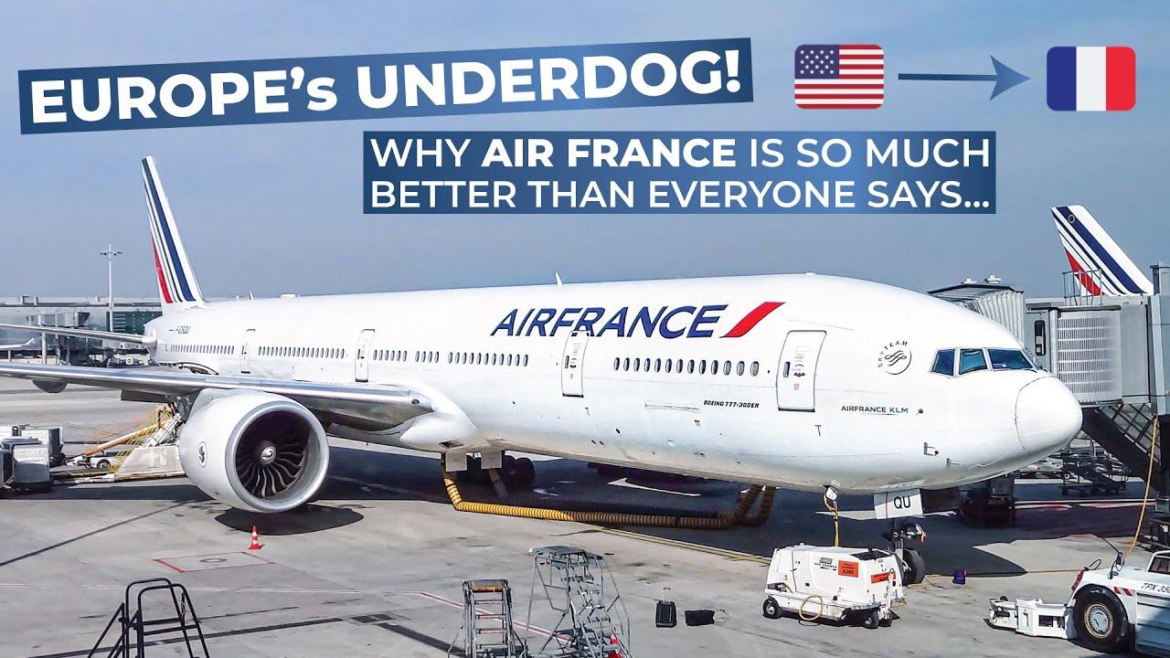 tripreport air france economy