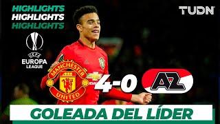 Highlights | Man. United 4 - 0 AZ Alkmaar | Europa League - J 6 - Grupo L | TUDN