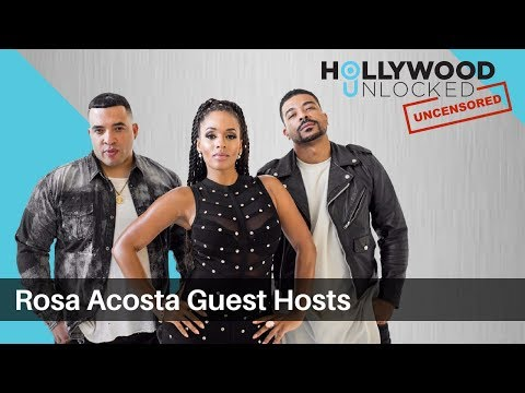 Rosa Acosta Likes Small What? on Hollywood Unlocked [UNCENSORED]