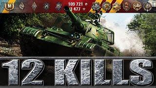 КИТАЙСКИЙ ЛТ 10 УРОВНЯ WZ-132-1 🌟 12 ФРАГОВ 🌟 World of Tanks лучший бой