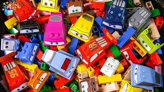 Learning Color disney cars city Vehicle friend's full Box Lego Play toys funny video for kids
