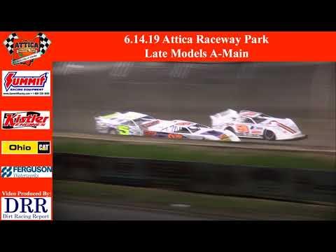 6.14.19 Attica Raceway Park Late Models A-Main