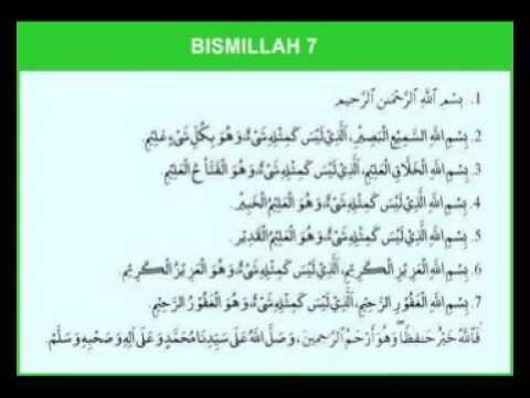 Fadhilat Bismillah 6 Bahagian 01/03
