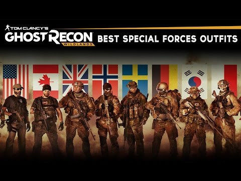 Ghost Recon Wildlands - Best Military & Special Forces Outfi