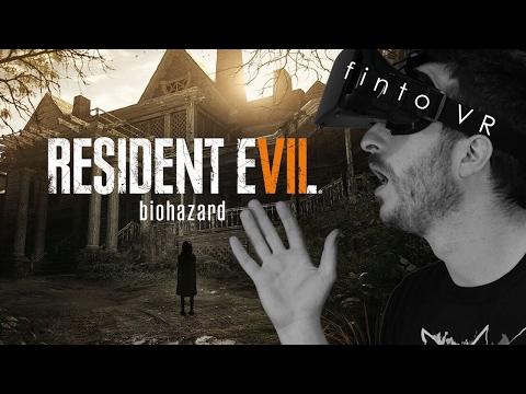 RESIDENT EVIL VR - DIVERTIRSI COME MATTI #2