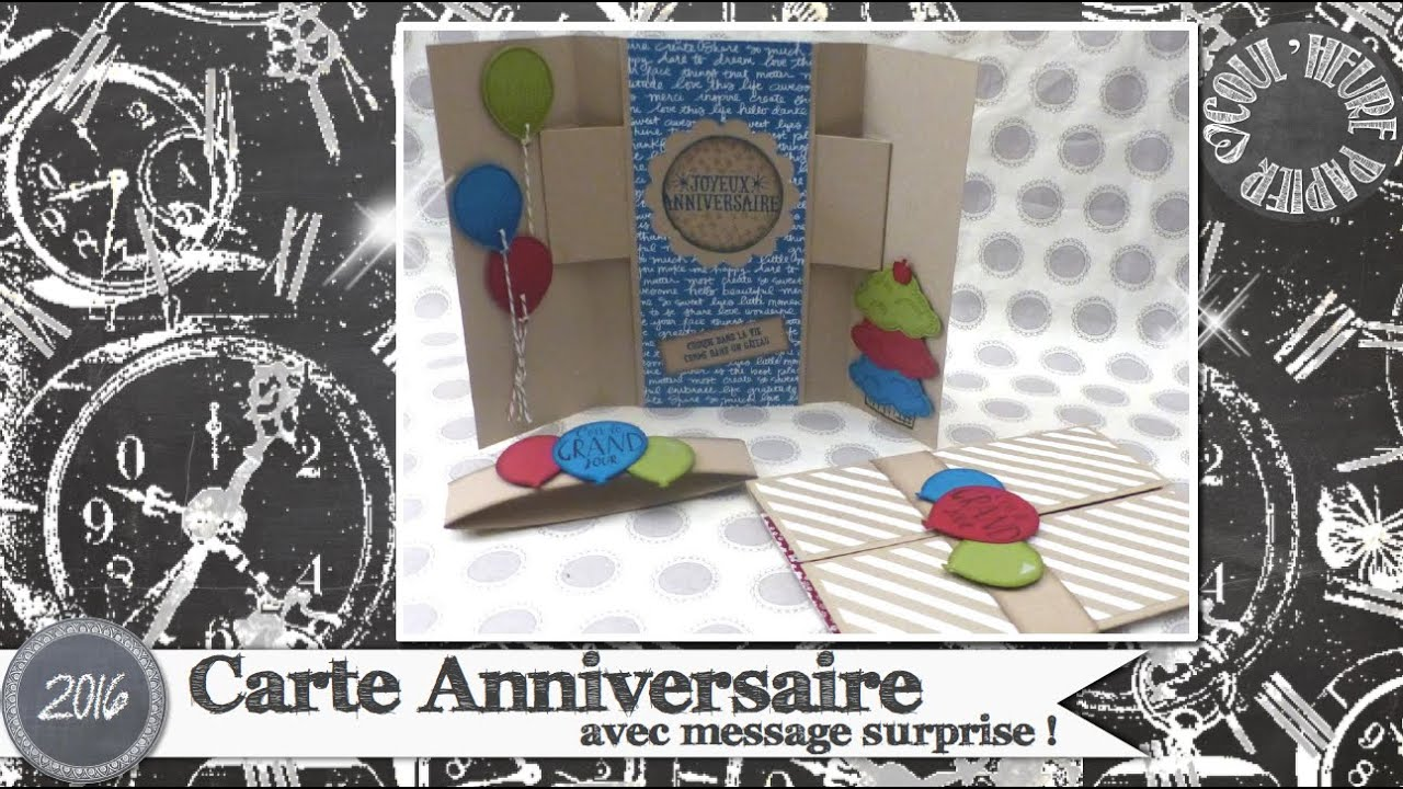Surprise D Anniversaire Originale