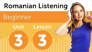 Romanian Listening Practice - Talking About Medicines in Romanian