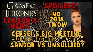 Game of Thrones News: Cersei's HUGE Meeting, Jon + Night's Watch?, No More Man Bun, & Sandor Fight