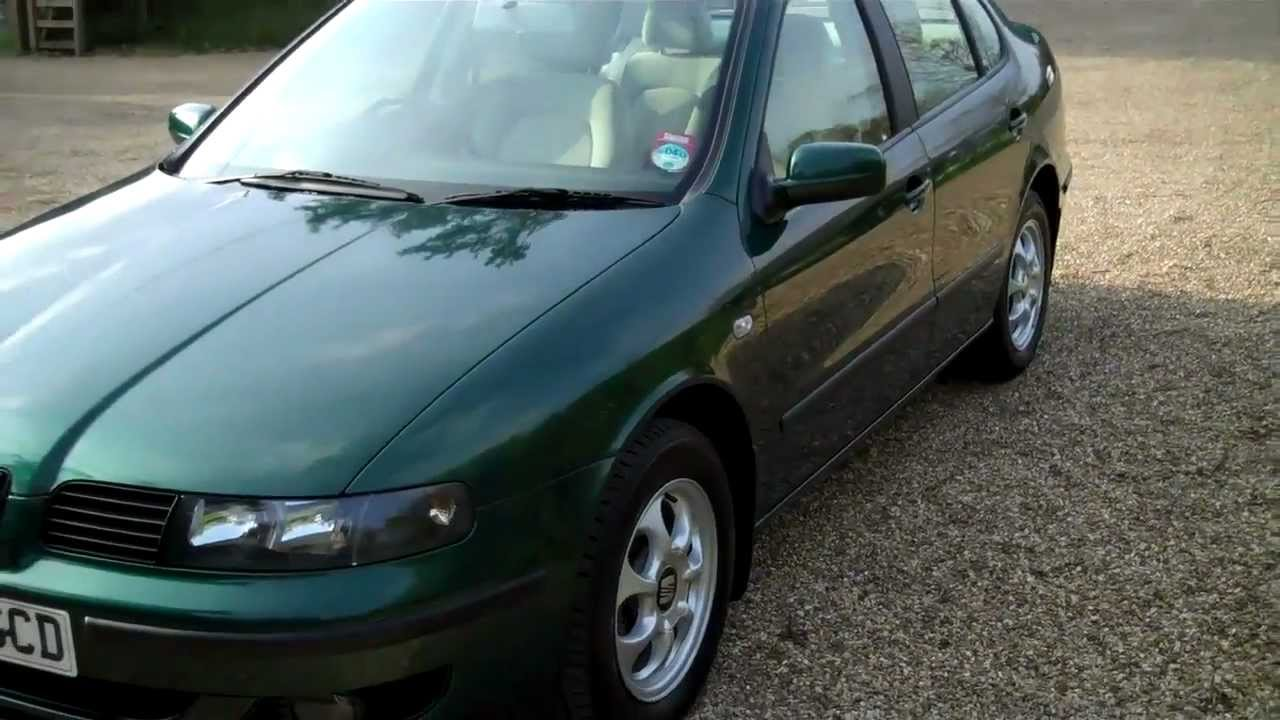 2001 y seat toledo 1 8 se 2000 youtube. Black Bedroom Furniture Sets. Home Design Ideas