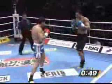 Badr Hari vs Ruslan Karaev (K-1 Best Fight-YOKOHAMA 2007)