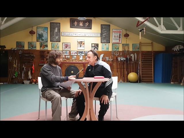 Interview Grandmaster Walter Toch over martial arts.