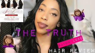 SAVON LUXE HAIR REVIEW