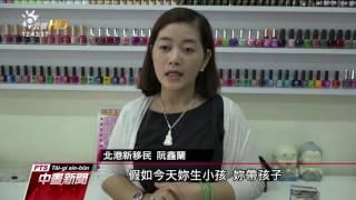 越南新移民開美甲店 傳授同鄉自立自足 20160815 公視中晝新聞