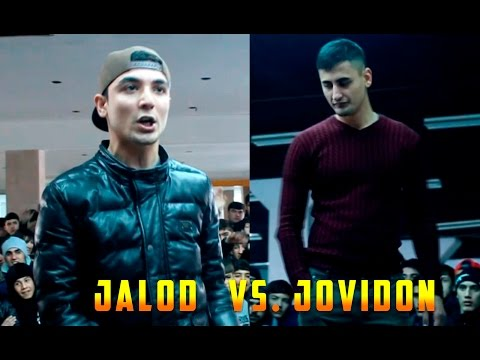 Видео Battle Jalod vs  Jovidon (RAP.TJ)