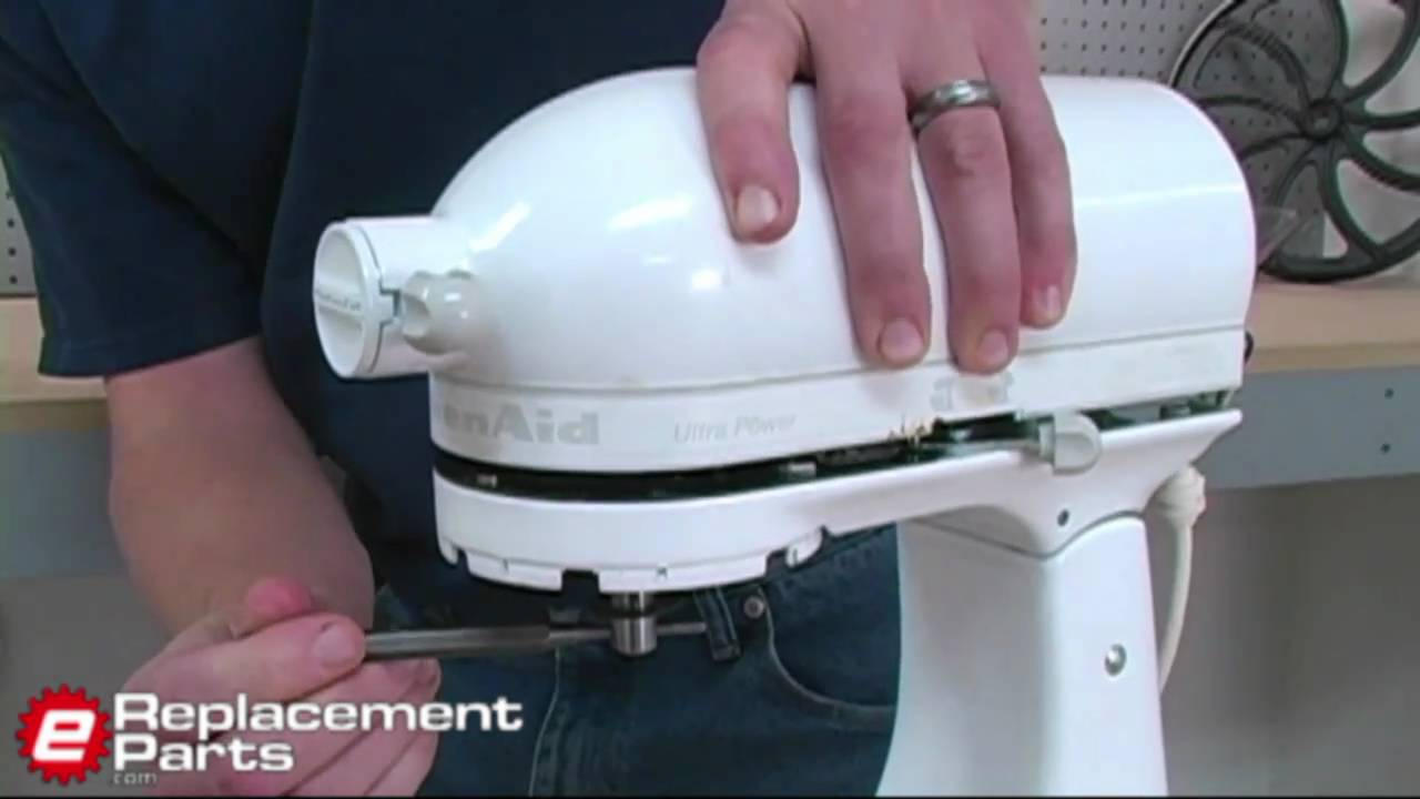 How to Fix a KitchenAid Mixer That Isn't Spinning  YouTube