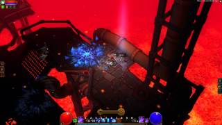 Torchlight 2 Farming: Lava Challenge for skulls and uniques