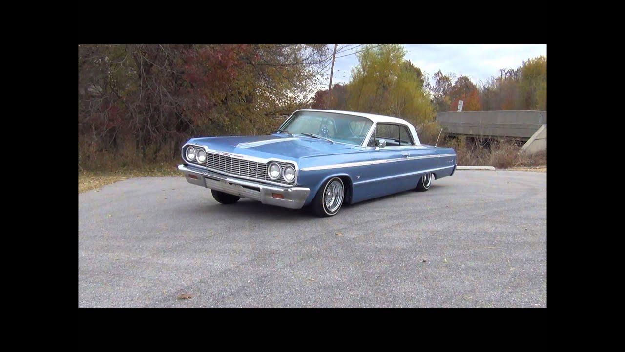 Don Hall Chevrolet >> 64 Impala SS on Air Ride - YouTube