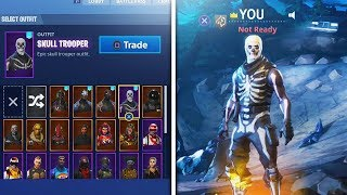 cómo desbloquear SKULL TROOPER en junio de 2018 (Fortnite Battle Royale)