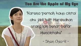 You Are the Apple of My Eyes : Kata Mutiara (Indonesia)