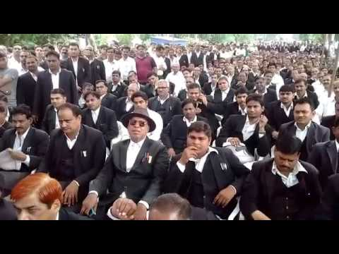 Lawyers of Allahabad High Court did not work against the behave of Judge