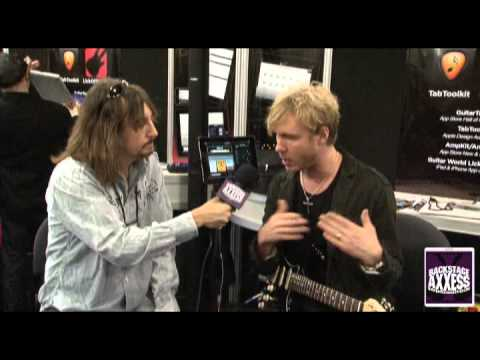 BackstageAxxess interviews Kenny Wayne Shepherd.