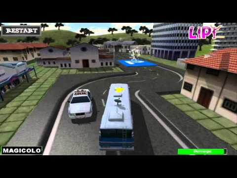3D School Bus Parking - Free game Unity 3D drive Magicolo 2014 - YouTube