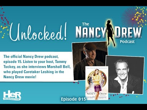 Unlocked! The Nancy Drew Podcast featuring Marshall Bell | Episode 015