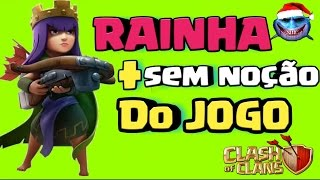 RAINHA ARQUEIRA MAIS BURRA DO CLASH OF CLANS - TUBARÃO A LENDA