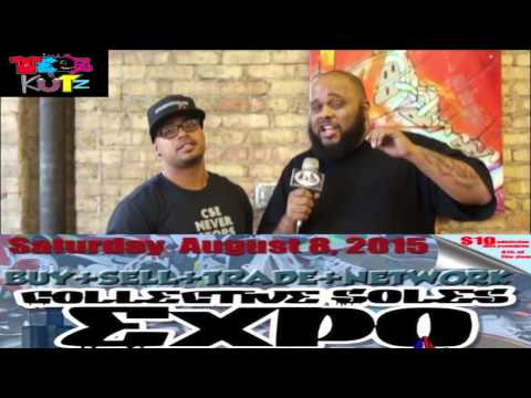 Collective Soles Expo Saturday August 8th in Chicago Commercial