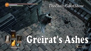 Dark Souls 3 - How to Find: Greirat's Ashes in the Grand Archives (Lothric Castle)