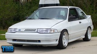 homepage tile video photo for 400HP TURBOCHARGED Ford Escort Review! The Coolest Sleeper Ever?
