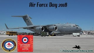 Air Force Day 2018- Arrivals, Walk-Around and Departures- July 7, 2018
