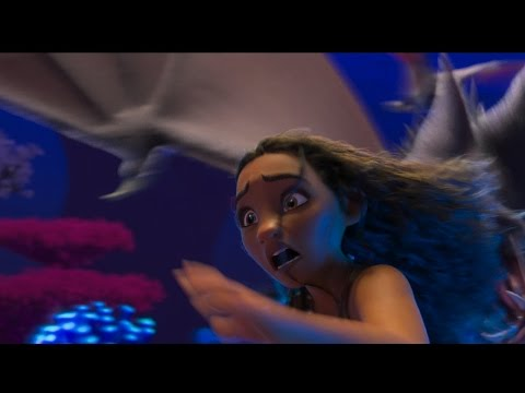 Moana - Eight Eyed Bat - deleted scene | official featurette (2017)