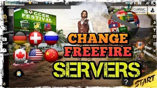 HOW TO CHANGE YOUR FREEFIRE BATTLEGROUNDS SERVER|| NOW PLAY WITH DIFFERENT SERVERS!! MUST CHECK OUT!