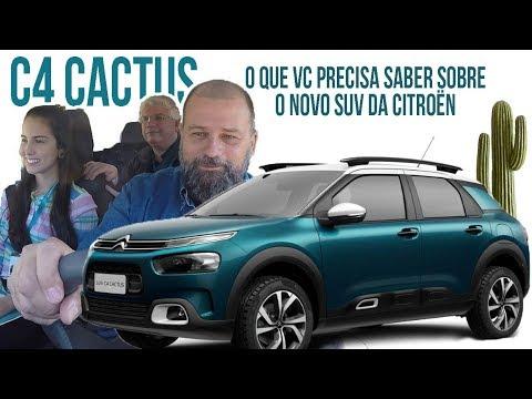 SUV Citroën C4 Cactus Por Dentro E Por Fora