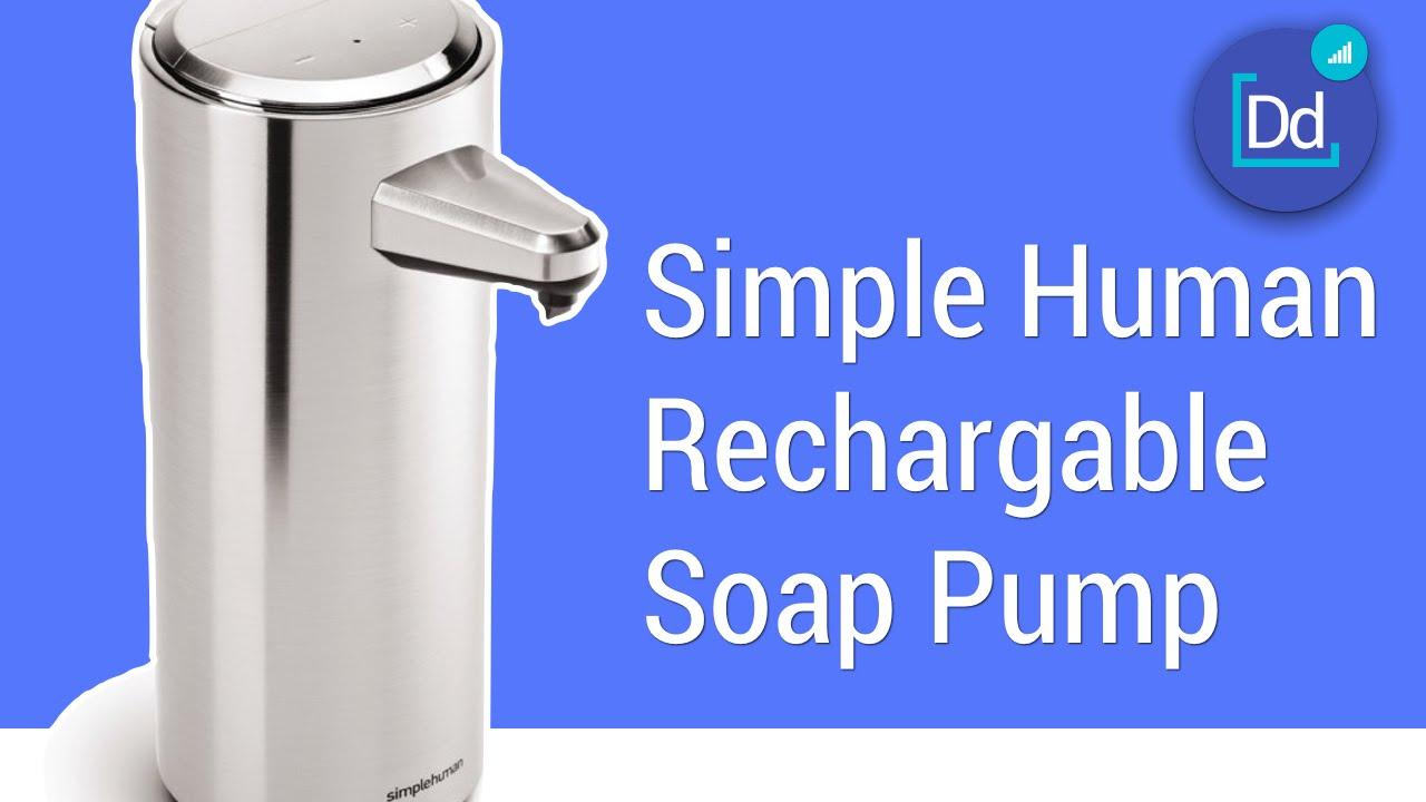 Simple Human Rechargeable Sensor Pump Youtube Simplehuman soap dispenser manual pdf