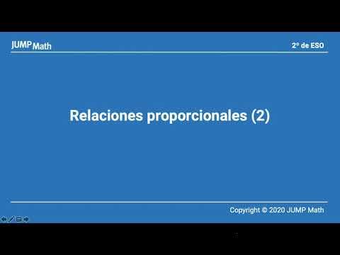 2º ESO. Unidad 5. Relaciones proporcionales II