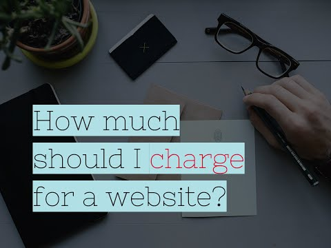 How Much Should You Charge for a Website?