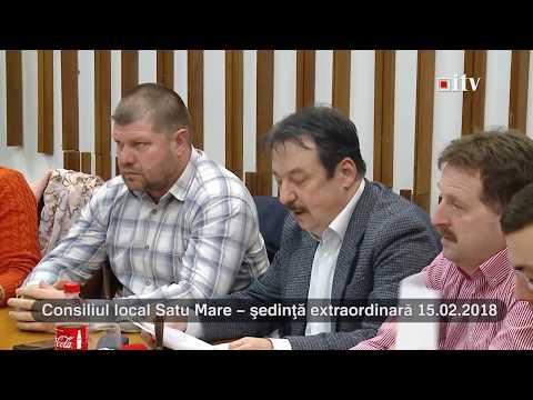 Sedinta Consiliul Local 15.02.2018