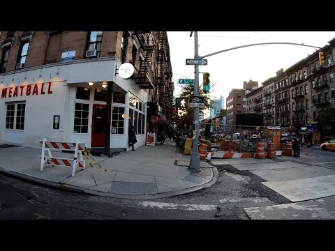 ⁴ᴷ⁶⁰ Walking NYC: 9th Avenue, Manhattan from Hell's Kitchen (Midtown West) to Chelsea